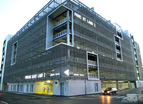 parking, gare+, Saint-Laud